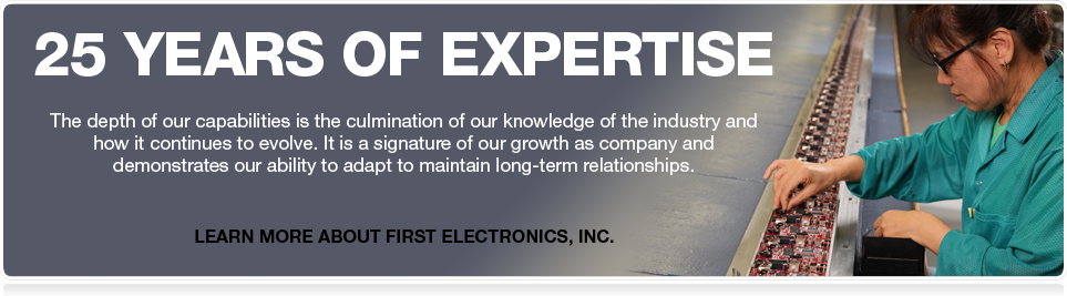 25 Years of Electronics Expertise